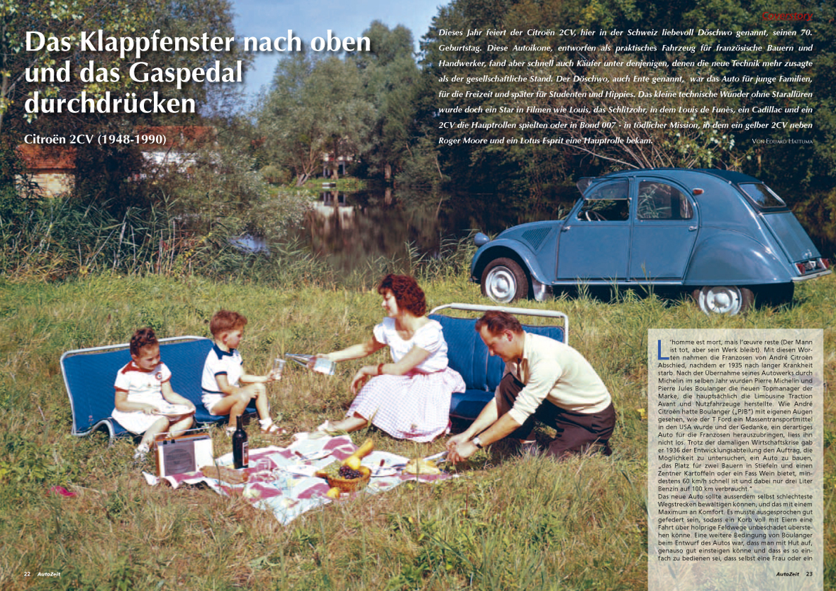 Coverstory: Citroën 2CV (1948-1990)