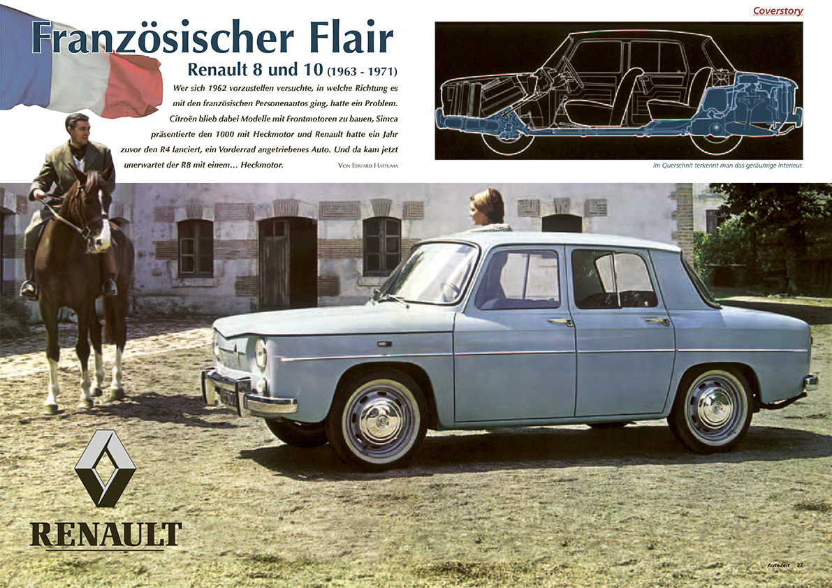 Coverstory: Renault 8 & 10 (1963-1971)